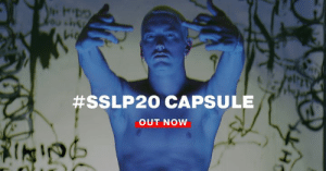 "Dank, Http, and Live:  #SSLP20 CAPSULE  OUT NOW ""You thought I was ill, now I'm even more so."" #SSLP20 Anniversary Capsule live now #StillDontGiveAFuck - http://shady.sr/SSLP20MerchFp"