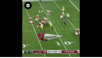 Memes, Nfl, and Best: ST&GOAL  GB 13AZ 10 4th 3:49 :40 1st &Goal  0  1st & Goal THIS GAME WAS INSANE.  Follow @nflthrowback for the BEST moments in NFL history! https://t.co/4wE00VdNID