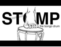 Drum, Bongo, and The: ST MP  the bongo drum