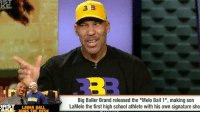 "StephenASmith says LaVarBall was rude for saying ""If you can't afford it, you ain't a Big Baller""...do you agree? 🏀🤔 @ESPNFirstTake WSHH: ST  RE  Big Baller Brand released the ""Melo Ball 1"", making son  LaMelo the first high school athlete with his own signature sho  IRST LAVAR BALL  OINS THE DESK StephenASmith says LaVarBall was rude for saying ""If you can't afford it, you ain't a Big Baller""...do you agree? 🏀🤔 @ESPNFirstTake WSHH"