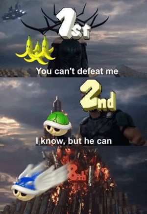 20 Funny Video Game Memes Collection: St  You can't defeat me  2nd  Tknow, but he can 20 Funny Video Game Memes Collection
