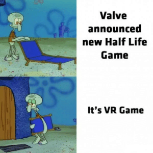 Sta: StA  Valve  announced  new Half Life  Game  It's VR Game