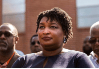 Memes, American, and Black: Stacey Abrams is vying to make US history as the first black American female governor. Tap the link in bio 👆 for the story of her historic campaign. The BBC visited Georgia to learn how her campaign has energised African American women in a surge of early voting across the state ahead of Tuesday's mid-term elections. USmidterms bbcnews Georgia staceyabrams