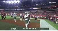 Ass, Football, and Nfl: STADIUM  verwaar  20  ( ) TOUCHDOWN Isaiah Crowell just wiped his own ass with the football  https://t.co/45jWncC0as