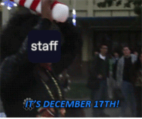 Christmas, Tumblr, and Blog: staff  IT'S DECEMBER 17TH! aenex:Merry Christmas everyone