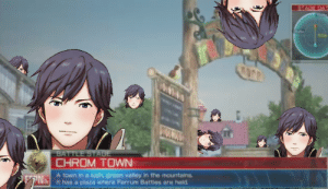 Welcome to Chrom town | Fire Emblem | Know Your Meme: STAGE DAT  TOTWO  BATTLE STAGE  CHROM TOWN  ZN A town in a lush, green valley in the mountains  It has a plaza where Ferrum Battles are held Welcome to Chrom town | Fire Emblem | Know Your Meme
