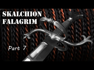 lifepro-tips: The Amazing Blacksmiths from MAN AT ARMS are making a sword for  Skallagrim. Watch as one of them makes the handle with no power tools !  So soothing to watch!  : STALCΠΙΟΝ  FALAGRIM  Part 7 lifepro-tips: The Amazing Blacksmiths from MAN AT ARMS are making a sword for  Skallagrim. Watch as one of them makes the handle with no power tools !  So soothing to watch!