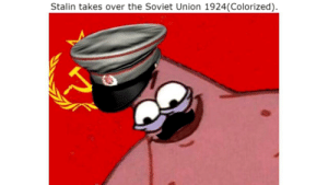 Hammer and Sickle: Stalin takes over the Soviet Union 1924(Colorized). Hammer and Sickle
