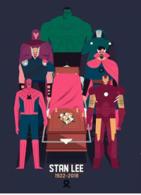 Stan, Stan Lee, and Tumblr: STAN LEE  1922-2018 memehumor:  This is so sad :(