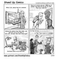"Costco, Omg, and Tumblr: Stand Up Comics  by Keith Lowell Jensen and Evan T. Lilley  Then go to CostCo and get a BIG bag of  walnuts. My wife'll let you use our card,  -11-> / they never check ID.  When I die, please have me cremated.  Remove the walnuts from their shells, andSo they can say  then put a bit of my ashes in  each shell, and glue them back closed again.  Yea. That's Keith in a nutshell  RID  Distribute these to my loved ones...  www.patreon.com/StandUpComics  O2018 <p><a href=""https://omg-images.tumblr.com/post/170550812137/living-will-oc"" class=""tumblr_blog"">omg-images</a>:</p>  <blockquote><p>Living Will [OC]</p></blockquote>"