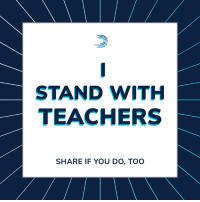 Future, Memes, and Teacher: STAND WITH  TEACHERS  SHARE IF YOU DO, TOO To every teacher in Arizona and around the country fighting for fair pay, better education funding, and a brighter future for our kids:  Your fight is our fight. 💪💪🏽💪🏾💪🏿