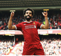 Mohamed Salah has now scored 9 goals in all competitions for Liverpool.   Worth every penny. ⚽️🔴: Standard  Chartered Mohamed Salah has now scored 9 goals in all competitions for Liverpool.   Worth every penny. ⚽️🔴