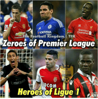 Di Maria, Falcao and Balotelli!  Credits: The Football Kingdom: Standard e  CHEVROLEThe TYRES  TFK  Football Zeroes of Premier League  GDOM  mira  EDcoM  Heroes of Ligue 1 Di Maria, Falcao and Balotelli!  Credits: The Football Kingdom