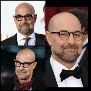 "Stanley Tucci's red carpet look is always ""i just got away with something"": Stanley Tucci's red carpet look is always ""i just got away with something"""