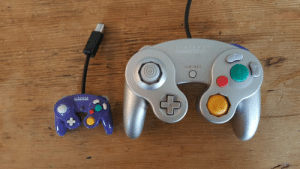 """pancakeke:  thevoidsquid:  """"Oh boo-hoo! Let me play melee set for you on the worlds smallest gamecube controller""""  : STAPT/PAUSE pancakeke:  thevoidsquid:  """"Oh boo-hoo! Let me play melee set for you on the worlds smallest gamecube controller"""""""