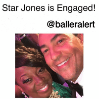 """Star Jones is Engaged!-blogged by @thereal__bee ⠀⠀⠀⠀⠀⠀⠀⠀⠀ ⠀⠀ Former talk show host StarJones is reportedly engaged to her boyfriend, RicardoLugo, according to UsWeekly. ⠀⠀⠀⠀⠀⠀⠀⠀⠀ ⠀⠀ Jones revealed the news to the publication while attending the Angel Ball in NYC on Monday, October 23. ⠀⠀⠀⠀⠀⠀⠀⠀⠀ ⠀⠀ """"We're engaged,"""" Jones said. """"Not talking about it."""" ⠀⠀⠀⠀⠀⠀⠀⠀⠀ ⠀⠀ Lugo and Jones went public back in July 2016 at the 8th Annual Children's Museum of the East End Family Affair in Bridgehampton, New York. ⠀⠀⠀⠀⠀⠀⠀⠀⠀ ⠀⠀ """"He's wonderful,"""" she continued. """"I'm happy and that's all anybody outside of my family needs to know."""" ⠀⠀⠀⠀⠀⠀⠀⠀⠀ ⠀⠀ This will be Jones' second go round at the married life. After four years of marriage, she filed for divorce from her first husband, Al Reynolds, back in April 2008.: Star Jones is Engaged!  @balleralert Star Jones is Engaged!-blogged by @thereal__bee ⠀⠀⠀⠀⠀⠀⠀⠀⠀ ⠀⠀ Former talk show host StarJones is reportedly engaged to her boyfriend, RicardoLugo, according to UsWeekly. ⠀⠀⠀⠀⠀⠀⠀⠀⠀ ⠀⠀ Jones revealed the news to the publication while attending the Angel Ball in NYC on Monday, October 23. ⠀⠀⠀⠀⠀⠀⠀⠀⠀ ⠀⠀ """"We're engaged,"""" Jones said. """"Not talking about it."""" ⠀⠀⠀⠀⠀⠀⠀⠀⠀ ⠀⠀ Lugo and Jones went public back in July 2016 at the 8th Annual Children's Museum of the East End Family Affair in Bridgehampton, New York. ⠀⠀⠀⠀⠀⠀⠀⠀⠀ ⠀⠀ """"He's wonderful,"""" she continued. """"I'm happy and that's all anybody outside of my family needs to know."""" ⠀⠀⠀⠀⠀⠀⠀⠀⠀ ⠀⠀ This will be Jones' second go round at the married life. After four years of marriage, she filed for divorce from her first husband, Al Reynolds, back in April 2008."""