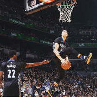 Is Zach LaVine a lock to win the NBA Dunk Contest tonight? 🔒🔒🔒: Star  SLAM DUNK  SLAM DUNK Is Zach LaVine a lock to win the NBA Dunk Contest tonight? 🔒🔒🔒