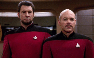Star Trek TNG - Face swap: Star Trek TNG - Face swap