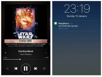 Fam, Star Wars, and London: STAR.  WARS  A NEW HOPE  MUSICCOMPOSED AND CONDUCTED BY JOHN WILLIAMS  PERFORMEow THE LONDON SYMPHONY ORCHESTRA  Cantina Band  John Williams  -1:46  1:02  Sunday 15 January  Neighbour  n  turn that shit up fam  slide to reply Wish this was my neighbour 😂😂