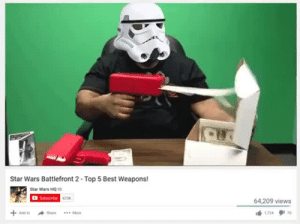 Star Wars, Best, and Star: Star Wars Battlefront 2-Top 5 Best Weapons!  Star Wars HO  673%  64,209 views  lé,724タ170
