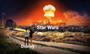 Two down, one to go: Star Wars  Disney  (ijaisk  Design Two down, one to go