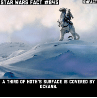 What would be the worst Star Wars planet to live on?: STAR WARS FACT 845  SWFACT  A THIRD OF HOTH S SURFACE IS COVERED BY  OCEANS. What would be the worst Star Wars planet to live on?