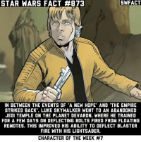 A remote is the floating ball that shot little bolts. The Jedi used them to train younglings. Luke used one in A New Hope. Source: The Weapon of a Jedi novel.: STAR WARS FACT #873  SWFACT  IN BETWEEN THE EVENTS OF 'A NEW HOPE' AND 'THE EMPIRE  STRIKES BACK'. LUKE SKYWALKER WENT TO AN ABANDONED  JEDI TEMPLE ON THE PLANET DEVARON, WHERE HE TRAINED  FOR A FEW DAYS ON DEFLECTING BOLTS FIRED FROM FLOATING  REMOTES. THIS IMPROVED HIS ABILITY TO DEFLECT BLASTER  FIRE WITH HIS LIGHTSABER.  CHARACTER OF THE WEEK A remote is the floating ball that shot little bolts. The Jedi used them to train younglings. Luke used one in A New Hope. Source: The Weapon of a Jedi novel.