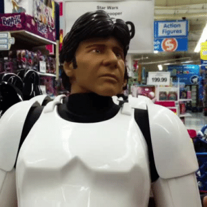 "Bad, Fucking, and Star Wars: Star Wars  ooper  Action  Figures  199.99 lizawithazed: sandyassmurderdaddy: Anytime I here someone say ""I've got a bad feeling about this"" in any Star Wars movie I think of this fucking vine. EVERY TIME. Husband: ""Going back to Clone Troopers was a bad idea"""