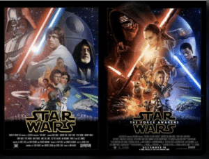 I see no difference after 30 years: STAR  WARS  STAR  WARS  THE FORCE AWAKENS  DECEM I see no difference after 30 years