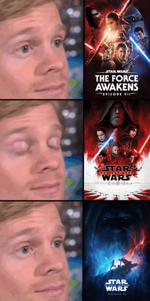 the last what?: STAR WARS.  THE FORCE  AWAKENS  EPISODE VII  STAR  WARS  THE LAS TJEDI  STAR  THE RISE OF SKYWALKEA  WARS  DECEMDER 20 the last what?