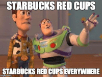 STARBUCKS RED CUPS  STARBUCKS REDCUPSEVERYWHERE  inngflipicom It's officially that time of year again. 😂
