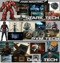 Memes, Best, and Quill: STARK INDUSTRIES  STARKK TECH  RYMM TECH  QUILL TECH Which one is the best?