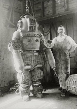 Prototype, Armor, and Stark: Stark Industry 1st armor prototype (1939)