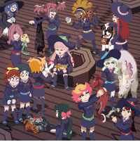 starlettc: Little Witch Academia - Familiars Collection Combined animations of lots of witches and their animal friends! : starlettc: Little Witch Academia - Familiars Collection Combined animations of lots of witches and their animal friends!