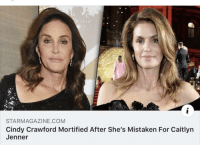 Caitlyn Jenner: STARMAGAZINE.COM  Cindy Crawford Mortified After She's Mistaken For Caitlyn  Jenner