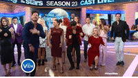 OMG! The Dancing with the Stars cast SLAYED our #ViewSlide! Now it's your turn — learn it and send us the video: http://abc.tv/2bS6qi6: Stars SEASON 23 CAST  VIEW  HVI.wsllde OMG! The Dancing with the Stars cast SLAYED our #ViewSlide! Now it's your turn — learn it and send us the video: http://abc.tv/2bS6qi6