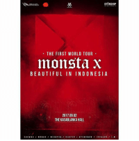 Repost @sh_entindonesia ・・・ Hello Monbebe~Congratulations on Monsta X's 2nd Debut Anniversary! After a long time, finally we back with the announcement of Monsta X event in Indonesia. We are glad to officially announce all the Monbebes in Indoneasia, MONSTA X, The First World Tour ' Beautiful ' in Indonesia will be held on Saturday, September 2nd 2017 at The Kasablanka Hall, Kota Kasablanka Jakarta. For further information, stay tuned! Time to start marking your calendars Monbebes! monstax monstaxworldtour monstaxworldtourINA: STARSHIP  THE FIRST WORLD TOUR  monsta X  BEAUTIFUL IN INDONESIA  2017.09.02  THE KASABLANKA HALL.  SHOWN U WON HO  MINH YUK  KI HYUN  HYUNG WON Repost @sh_entindonesia ・・・ Hello Monbebe~Congratulations on Monsta X's 2nd Debut Anniversary! After a long time, finally we back with the announcement of Monsta X event in Indonesia. We are glad to officially announce all the Monbebes in Indoneasia, MONSTA X, The First World Tour ' Beautiful ' in Indonesia will be held on Saturday, September 2nd 2017 at The Kasablanka Hall, Kota Kasablanka Jakarta. For further information, stay tuned! Time to start marking your calendars Monbebes! monstax monstaxworldtour monstaxworldtourINA