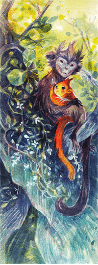 starstray:  HAPPY CHINESE NEW YEAR please have some silver leaf monkeys (or silvery lutungs which are apparently their official english name - so wikipedia informs me)I have been drawing quite a bit lately, so more updates soon!! (ha ha, soon she says. oh dear I haven't even uploaded the rest of last year's inktober): starstray:  HAPPY CHINESE NEW YEAR please have some silver leaf monkeys (or silvery lutungs which are apparently their official english name - so wikipedia informs me)I have been drawing quite a bit lately, so more updates soon!! (ha ha, soon she says. oh dear I haven't even uploaded the rest of last year's inktober)
