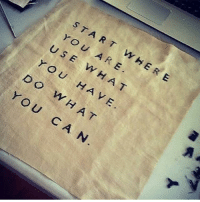 Love this from @vybesource! Just do your best with what you have to work with! wearespiritual spiritual spirituality omshanti: START  WHERE  YOU A RE  US E W H A T  YOU HA VE  U ARE  D O  WHAT  Y OU  CA N Love this from @vybesource! Just do your best with what you have to work with! wearespiritual spiritual spirituality omshanti