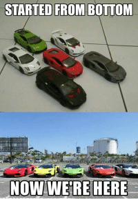 Started from the bottom... Car Throttle Supercars: STARTED FROM BOTTOM  NOW WERE HERE Started from the bottom... Car Throttle Supercars