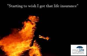 "Gif, Kkk, and Life: ""Starting to wish I got that life insurance""  yourlife  solutiorn life-insurancequote: sorrynouser:  life-insurancequote:   sorrynouser:  life-insurancequote:   sorrynouser:  life-insurancequote:  That's right, folks!   YourLifeSolution.com   WHAT THE FUCK IS THAT A KKK BURNING FROM LONG AGO WHO THINKS THIS IS A GOOD MARKETING THING?  You know damn well that's just a person casually walking in a flame suit.  Before you accuse me of such nonsense… GET LIFE INSURANCE!   THAT IS NOT CASUAL.  CASUAL: KEEP SCIENTOLOGY WORKING!   SCIENTOLOGY IS BS AND YOU KNOW IT.  SCIENTOLOGY SAVED ME FROM BECOMING A MORMON!"