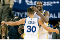 The Warriors cruise in their last game of 2016 as they beat the Dallas Mavericks at home to the final score of 108-99. Kevin Durant recorded a triple double (19p, 11r, 10a) as Klay Thompson led the way in the scoring column tallying 29 points which included a 17 point 3rd quarter flurry. The Dubs will be back on the court for their first game of the new year on Monday when they host the Denver Nuggets. HappyNewYear: STAT  30 The Warriors cruise in their last game of 2016 as they beat the Dallas Mavericks at home to the final score of 108-99. Kevin Durant recorded a triple double (19p, 11r, 10a) as Klay Thompson led the way in the scoring column tallying 29 points which included a 17 point 3rd quarter flurry. The Dubs will be back on the court for their first game of the new year on Monday when they host the Denver Nuggets. HappyNewYear