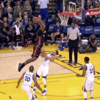 JamesJohnson with the nasty dunk on StephCurry!! 🏀😳🙌 @HouseOfHighlights MiamiHeat vs GSWarriors WSHH: State F  -STA  ゐ JamesJohnson with the nasty dunk on StephCurry!! 🏀😳🙌 @HouseOfHighlights MiamiHeat vs GSWarriors WSHH
