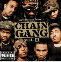 "14 years ago today, StateProperty released their second album ""The Chain Gang Vol.2"" featuring the tracks ""When You Hear That"", ""It's On"", & ""Can't Stop, Won't Stop"". What's your favorite song off this album? 🔥💯 HipHop History WSHH: STATE PROPERTY PRESENTS  CHAIN  GANG  VOL.ID  PARE NTAL  ADVISORY  EXPLICIT CONTENT 14 years ago today, StateProperty released their second album ""The Chain Gang Vol.2"" featuring the tracks ""When You Hear That"", ""It's On"", & ""Can't Stop, Won't Stop"". What's your favorite song off this album? 🔥💯 HipHop History WSHH"