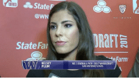 Basketball, Memes, and WNBA (Womens National Basketball Association): State  UlnBa  @WN  State Far  KELSEY  PLUM  N E T W O R K  arm  NO.1 OVERALL PICK 2017 WNBA DRAFT  SAN ANTONIO STARS Kelsey has a message for not only Husky fans, but women's basketball fans around the world. BackThePac