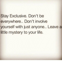 Everything you do and say doesn't need to seen and heard. Funnily enough, most of my talking & actual action is done off of Instagram. I'm not just talking revolution action 🌞 You can be out here cussing the systems and not building or creating your own. chakabars: Stay Exclusive. Don't be  everywhere.. Don't involve  yourself with just anyone.. Leave a  little mystery to your life. Everything you do and say doesn't need to seen and heard. Funnily enough, most of my talking & actual action is done off of Instagram. I'm not just talking revolution action 🌞 You can be out here cussing the systems and not building or creating your own. chakabars