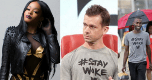 thats-tea:  Azealia Banks ranted on a post that called out Deray and Twitter Ceo Jack Dorsey for allegedly being in a relationship, saying he's been poppin' his Bussy for Dorsey in sexual activities in exchange for being used and controlled by Dorsey as the face of Black Lives Matter on Twitter.:  #STAY  WOKE  thats-tea:  Azealia Banks ranted on a post that called out Deray and Twitter Ceo Jack Dorsey for allegedly being in a relationship, saying he's been poppin' his Bussy for Dorsey in sexual activities in exchange for being used and controlled by Dorsey as the face of Black Lives Matter on Twitter.