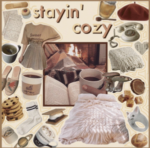 : stayin'  COZY  -  Sweet  Wemories  me  a  w  ed e  sc nr  d sh  Ma  ad oudenred i  Cappuccino  YEAR