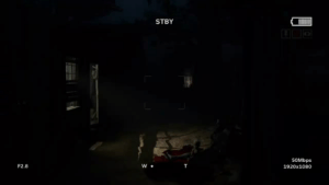 Tried to record some Outlast 2 gameplay but f**k that s**t!  : STBY  50Mbps  1920x1080  F2.8   Tried to record some Outlast 2 gameplay but f**k that s**t!