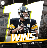 Big Ben has the most wins of any QB at FirstEnergy Stadium in Cleveland. https://t.co/rlZj6V92eA: Steelers  BEN ROETHLISBERGER  Ca  NFL Big Ben has the most wins of any QB at FirstEnergy Stadium in Cleveland. https://t.co/rlZj6V92eA